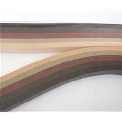 Filigraan papier bruin ~ 13mm