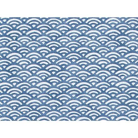 Washi papier motief golven - JP0360