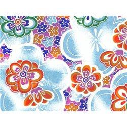 Washi papier motief bloemen - JP0880