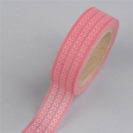 Masking Tape - Krullen rosa