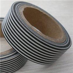 Masking Tape - Strepen zwart