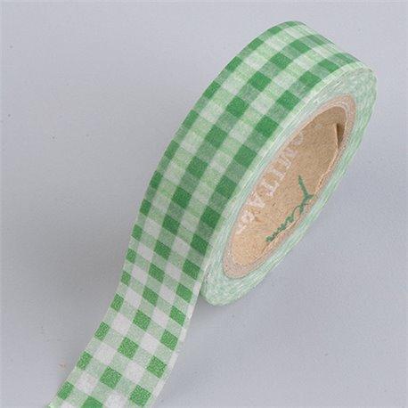 Masking Tape - Ruiten groen