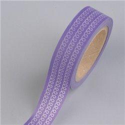Masking Tape - Krullen lila