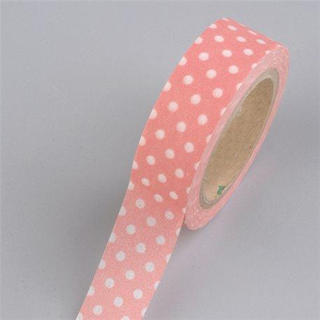 Masking Tape - Stippen rosa