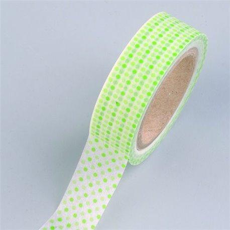 Masking Tape - Stipjes groen