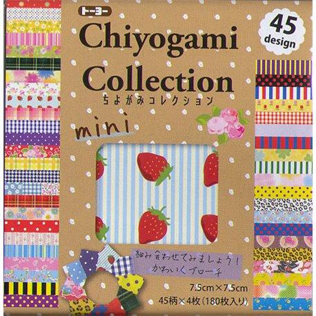 Origami papier 7,5x7,5 cm - Chiyogami collectie