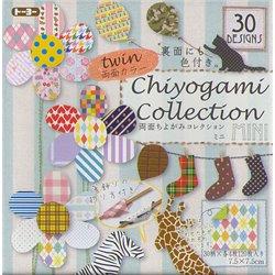 Origami papier 7,5x7,5 cm - Chiyogami collectie (DUBBELZIJDIG)
