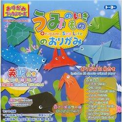 Origami Boeken Serie - Zeeleven