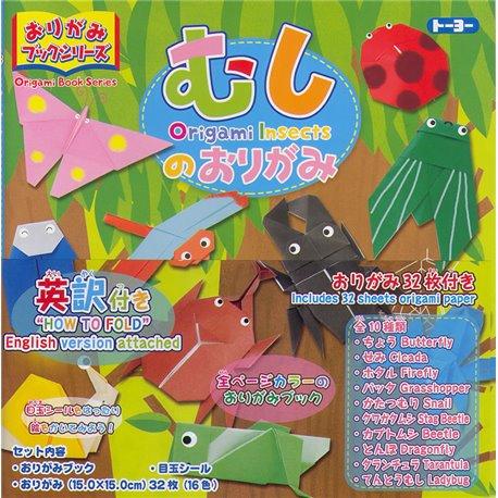 Origami Boeken Serie - Insecten