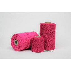 Eco Cotton Twine - Donker Rose - 1 mm