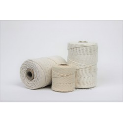 Eco Cotton Twine - Écru - 1 mm