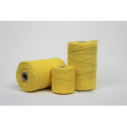 Eco Cotton Twine - Geel - 1 mm