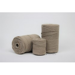 Eco Cotton Twine - Licht Bruin - 1 mm
