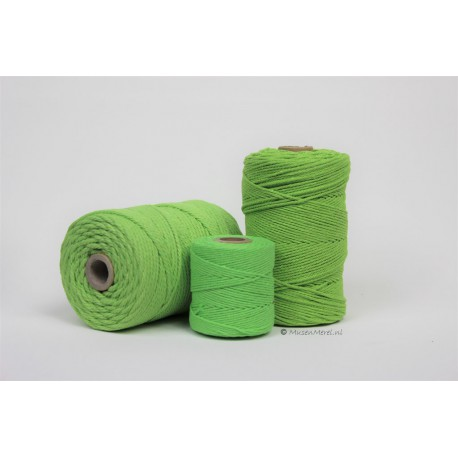 Eco Cotton Twine - Licht Groen - 1 mm