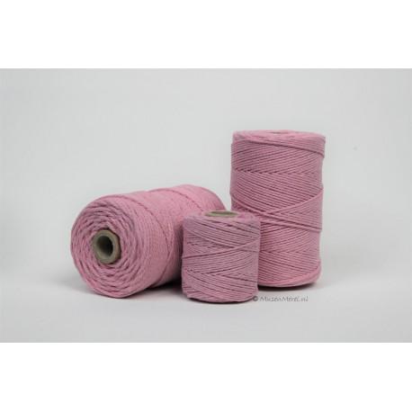 Eco Cotton Twine - Licht Rose - 1 mm