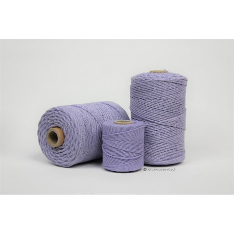 Eco Cotton Twine - Lila - 1 mm
