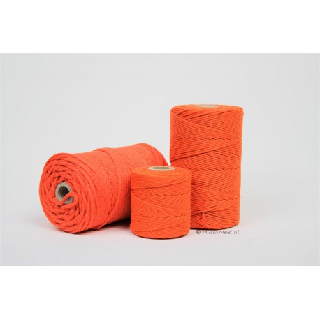 Eco Cotton Twine - Oranje - 1 mm