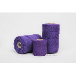 Eco Cotton Twine - Paars - 1 mm