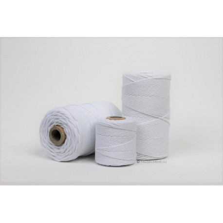 Eco Cotton Twine - Wit - 1 mm
