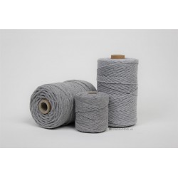 Eco Cotton Twine - Muis Grijs - 1,5 mm