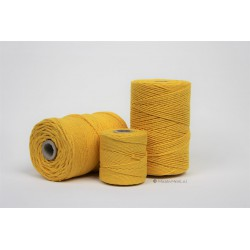 Eco Cotton Twine - Oker Geel - 1,5 mm