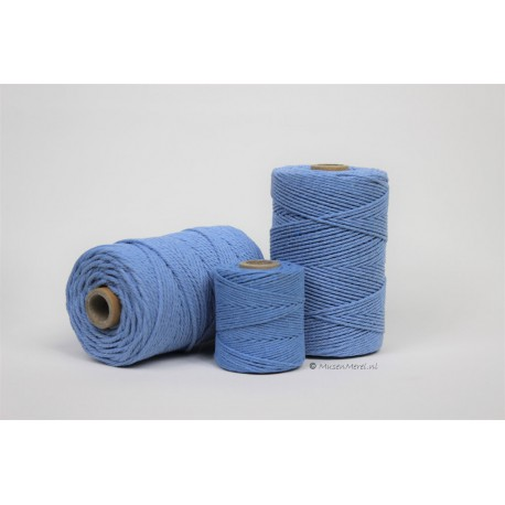 Eco Cotton Twine - Hemels Blauw - 2,2 mm