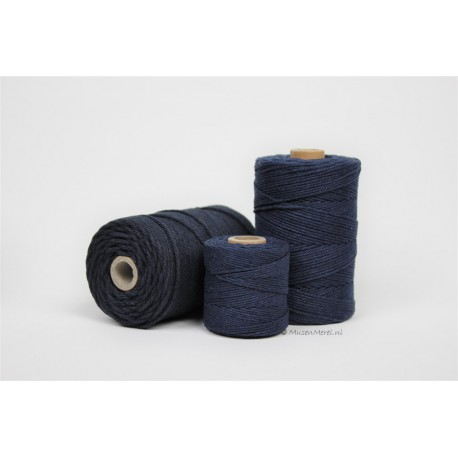 Eco Cotton Twine - Donker BLauw - 2,2 mm