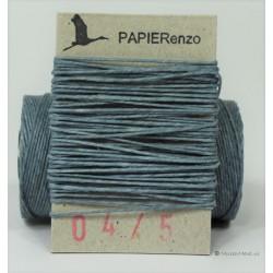 gewaxt linnen 18/4 - jeansblauw (5 meter)