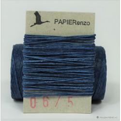 gewaxt linnen 18/4 - koningsblauw (5 meter)