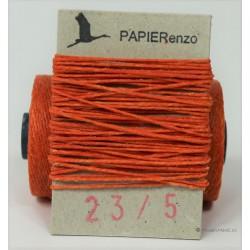 gewaxt linnen 18/4 - oranje (5 meter)