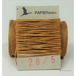 gewaxt linnen 18/4 - butterscotch (5 meter)