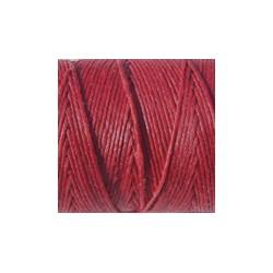 gewaxt linnen 18/2 - rood