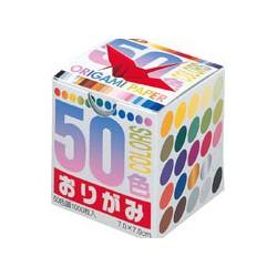 Origami papier 7x7 cm - 1000 kraanvogels