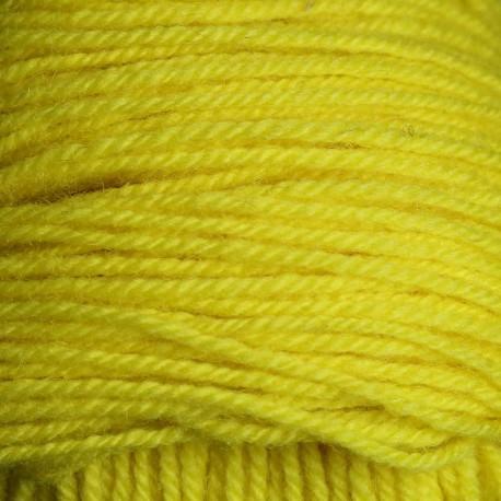 Rya Ryijy wol - citroen geel (6421)