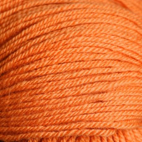 Rya Ryijy wol - perzik oranje (3531)