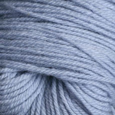 Rya Ryijy wol - wolken blauw (6411)