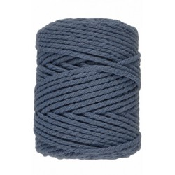 Macramé 10 - Donker Blauw - 5 mm