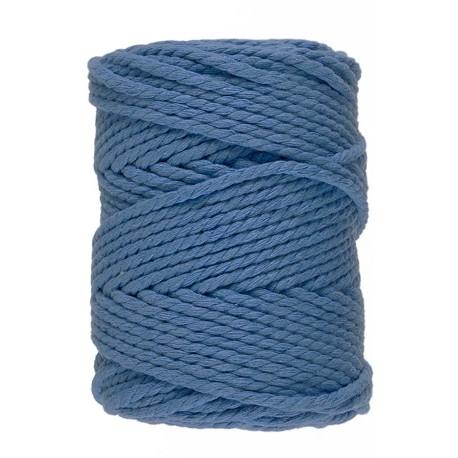 Macramé 10 - Blauw - 5 mm