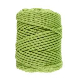 Macramé 10 - Appelgroen - 5 mm