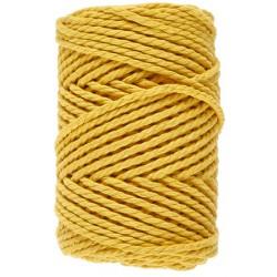 Macramé 8 - Geel - 3 mm