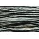 """Papiergaren """"Normaal"""" 15 meter - zwart (018)"""