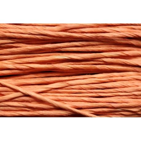 """Papiergaren """"Normaal"""" 15 meter - oranje/roze (027)"""