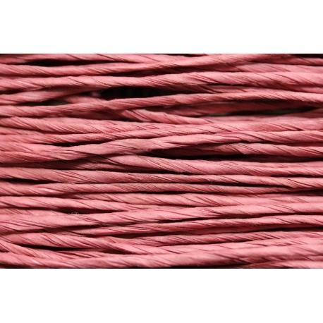 """Papiergaren """"Normaal"""" 15 meter - oud roze (028)"""
