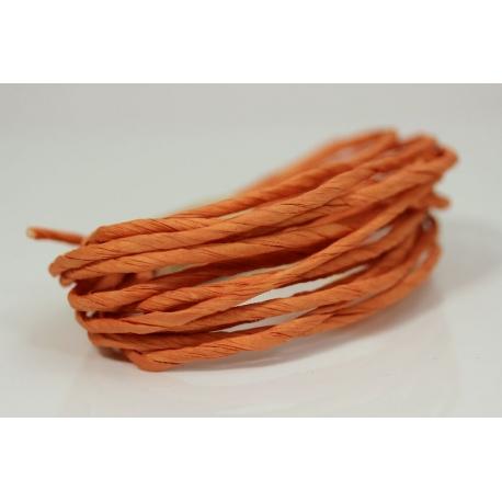 """Papiergaren """"Dik"""" 5 meter - oranje/roze (027)"""
