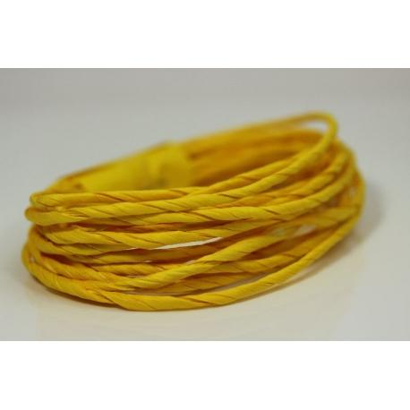 """Papiergaren """"Dik"""" 5 meter - geel (012)"""