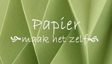 Papier - zelf papier maken